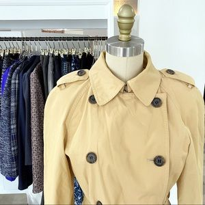 Anne Klein • Classic Short Belted Trench • 4